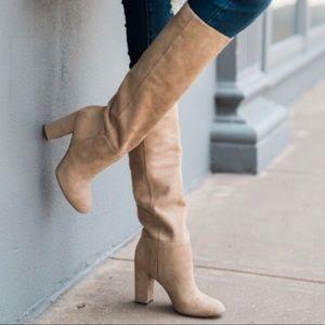 Sam Edelman Caprice Knee High Boots, size 7 1/2